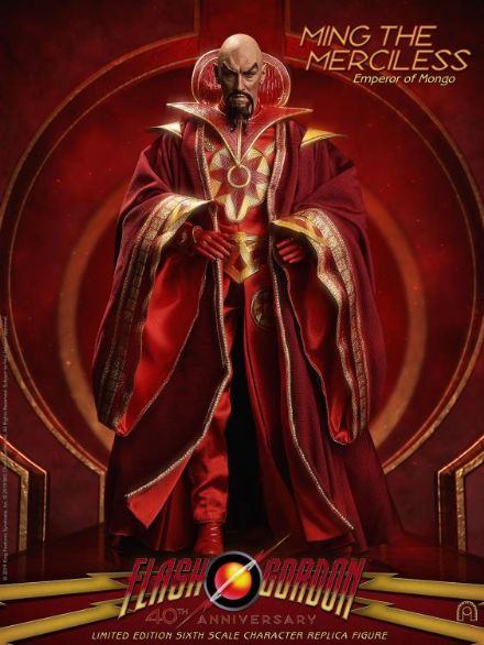 *Pre Order* Big Chief Studios  Ming the Merciless 40th Anniversary 1:6 Scale Limited Edition Figure